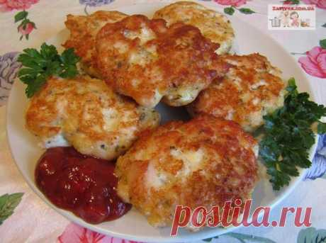 Las croquetas de gallina con el queso