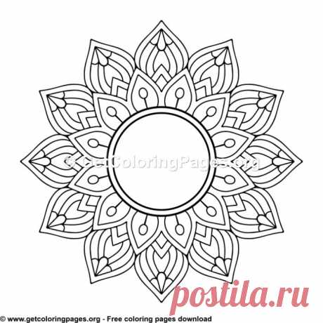 Ethic Style Mandala 10 Coloring Pages – GetColoringPages.org