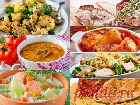 7 ужинов: вкусное меню на неделю - tochka.net