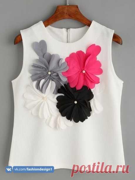 Интересные идеи декора одежды — Сделай сам, идеи для творчества - DIY Ideas