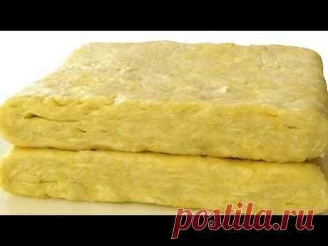 Рубленое слоеное тесто - YouTube