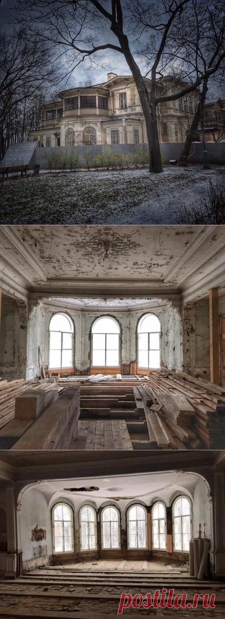 Усадьба Громова в Лопухинском саду. Как проходит ее восстановление!