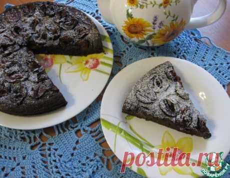 Пирог черемуховый со сливами – кулинарный рецепт
