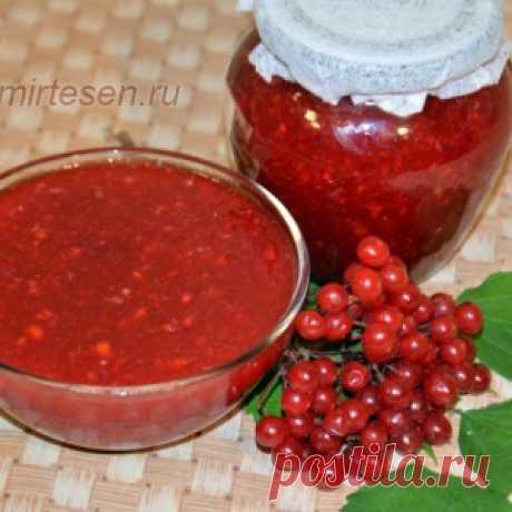 Лучший рецепт из калины, узнав который вы полюбите эту ягоду!