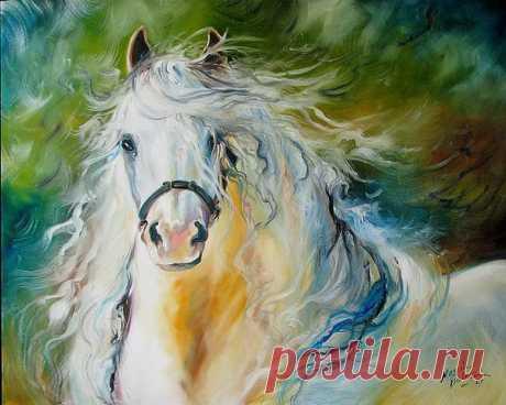 Белокурая лошадка