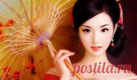 Китайская маска красоты.