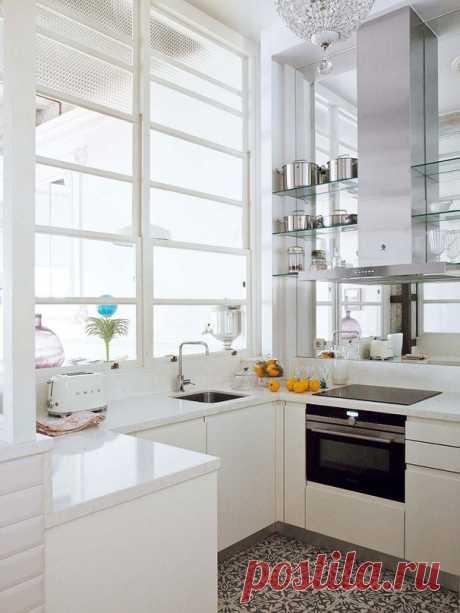 Чудесная реконструкция квартиры на цокольном этаже в Испании - Дизайн интерьеров | Идеи вашего дома | Lodgers
