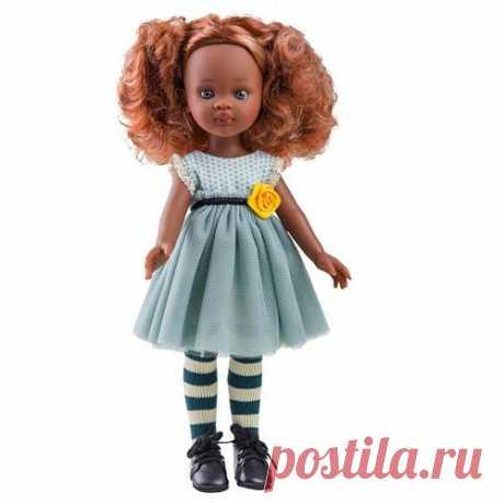 Кукла Paola Reina Нора с розой 32 см (04512)  Товар на официальном сайте магазина Перейти Кукла Нора от мастеров испанского бренда Paola Reina ручной работы.У каждой куклы Paola Reina:нежный аромат ванилиглаза в виде кристалла из прозрачного твердого пластика, не закрываютсяволосы, которые красиво блестят и легко расчесываютсяповорачиваются голова, руки и ноги Кукла изготовлена из качественного и экологически чистого винила, а волосы сделаны из высококачественного нейлона....
