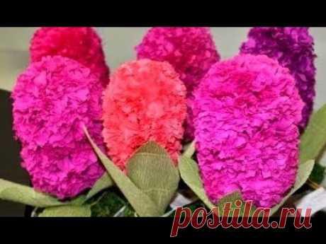 ЦВЕТЫ ИЗ БУМАГИ Своими Руками |МК бумажные цветы из бумаги поделки|easy paper crafts Flowers