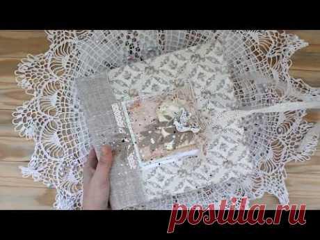 Нежный свадебный фотоальбом / Delicate wedding photo album