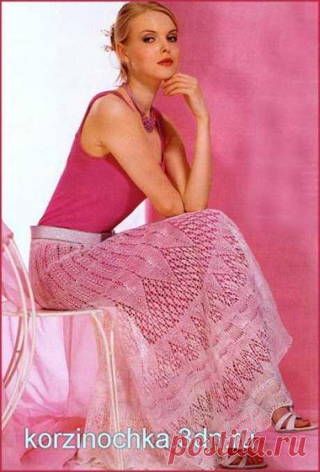 Вязание на спицах юбок - Вязание спицами, модели и схемы для вязания на спицах