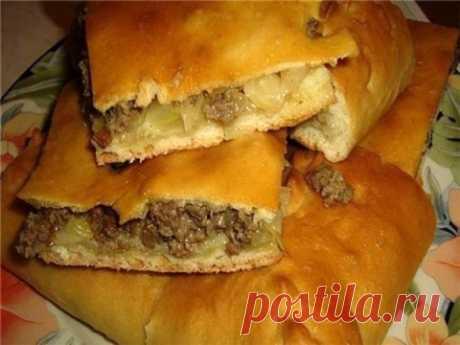 Кулинария>Пирог с мясом «Легче не бывает»