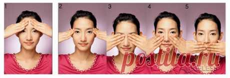 Корейский лимфатический массаж лица против сухости кожи