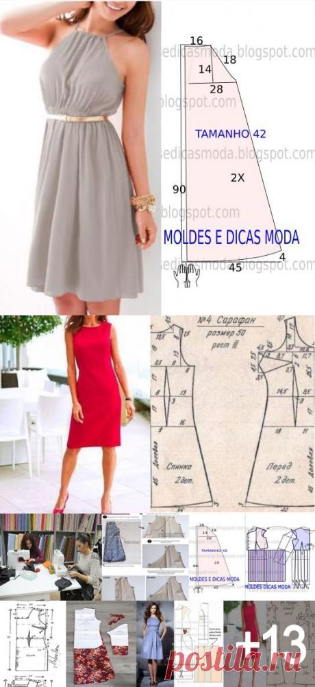 Maravilloso curso gratis de corte y confección: Aprende a Como hacer vestidos con sus patrones paso a paso muy fáciles