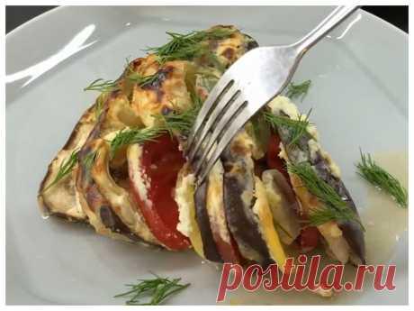 Налетай, пока сезон. Баклажаны с помидорами, запеченные в сметанном соусе | PripravaClub - кулинарный канал | Яндекс Дзен