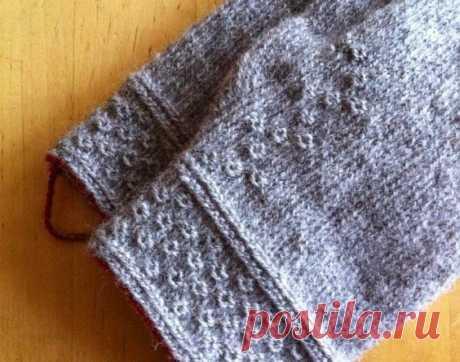 Twined knitting Inspiration (техника вязания обвитыми петлями)