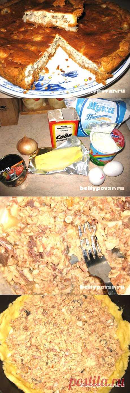 Вкуснючий пирог с рыбной консервой - тесто отменное, начинка сочная и нежная, аромат великолепный и вкус непередаваемый