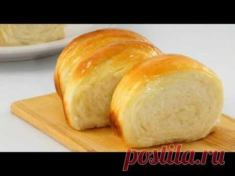 Мягкий и пышный хлеб из сгущенного молока