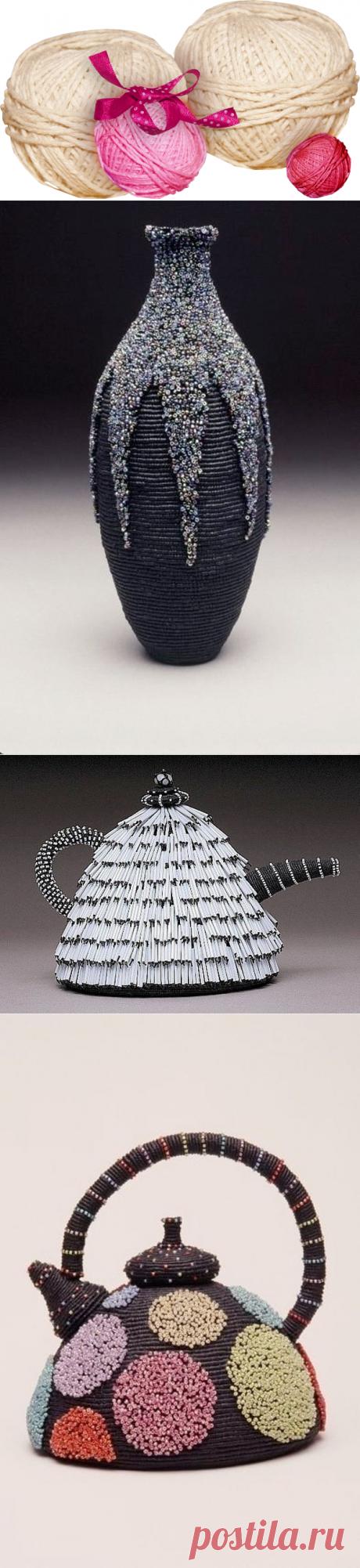 Las esculturas insólitas en la técnica del macramé