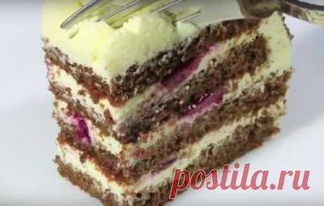 Бесподобный творожный торт за 30 минут И отлично подойдет как к семейному чаепитию, так и на праздничный стол.