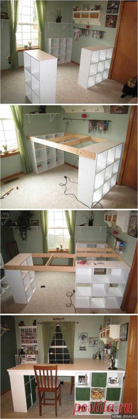 Рукоделие для дома своими руками — 77 идей   Home-ideas.ru