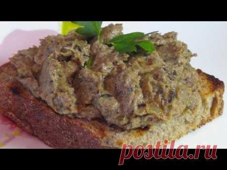 Как приготовить очень вкусный паштет(намазку) из баклажан