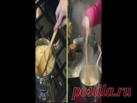 Американцы учат, как готовить картошку пюре из чипсов - YouTube