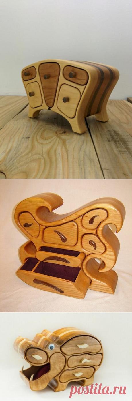 Шкатулки из дерева волшебной красоты | Древология | Яндекс Дзен