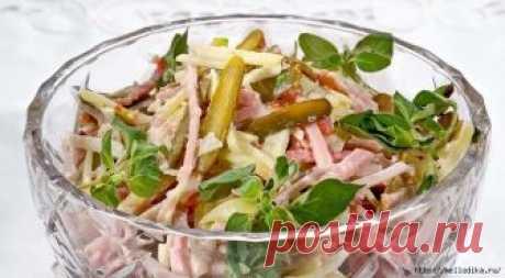 Swiss New Year's salad