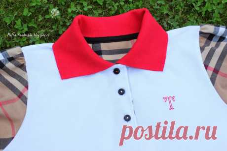 malta-handmade: Master class in a polo collar