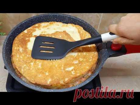 Минутная ВКУСНОТА на ЗАВТРАК за 7минут😱Быстрый и Сытный завтрак/Узбечка готовит