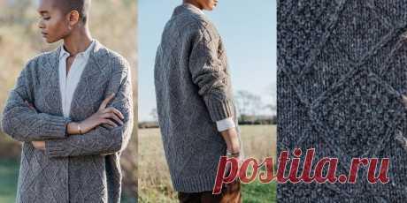 Модное вязаное пальто Sketch - Вяжи.ру