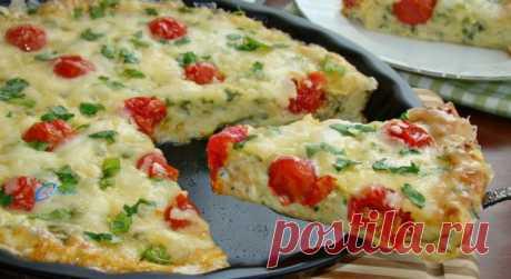 Кабачковая пицца — очень просто и невероятно вкусно! — Мир интересного