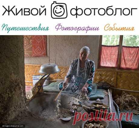 Как делают узбекский шёлк и ковры? Базары Ферганcкой области и Андижан   Живой фотоблог :-)