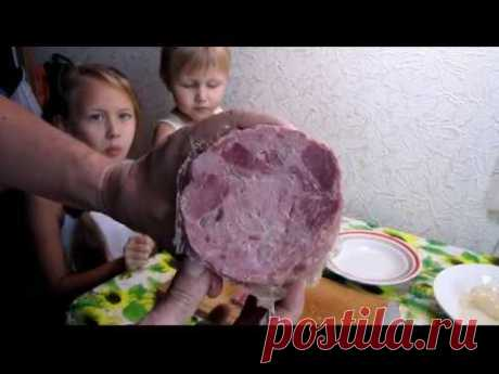 Home-made ham - the Most tasty recipe!!!