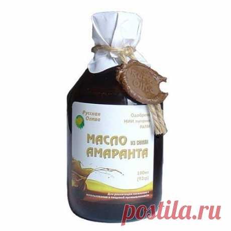 Амарантовое масло. Полезные свойства