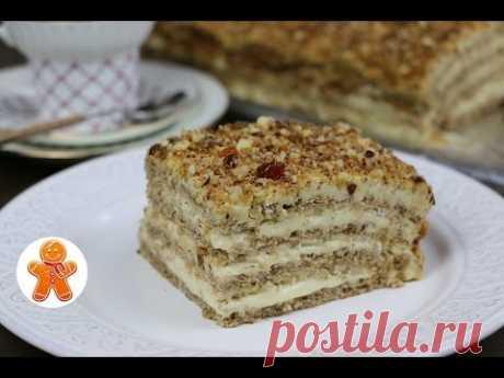 """Торт """"Египетский"""" необычайно нежный и безумно вкусный ✧ """"Egyptian"""" Cake (English Subtitles)"""