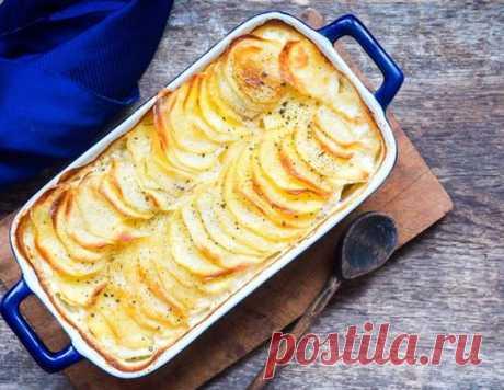 Гратен из картофеля - рецепт приготовления с фото от Maggi.ru