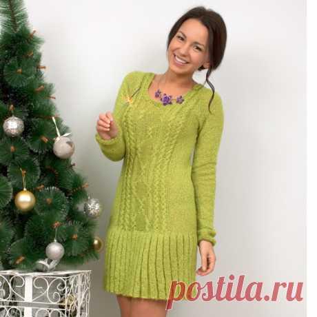 вязание платьев спицами для женщин - 290 тыс. картинок. Поиск Mail.Ru