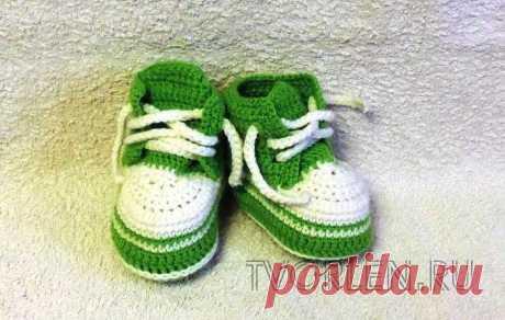 ¡Los patucos-zapatos la Clase maestra – Es creada por el gancho – no tenemos pereza!