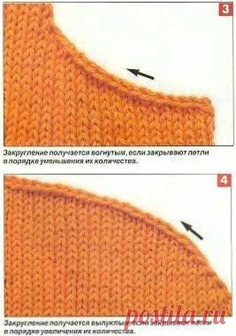 Вывязывание рукава спицами.7 способов +советы. :)