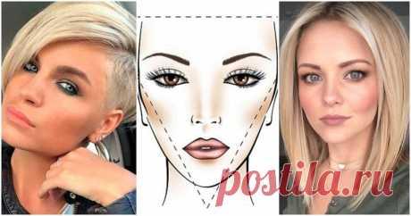 Идеальная стрижка для разных форм лица: подбираем за пару минут ...