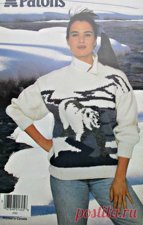 Жаккардовые узоры для пуловеров. Спицы.