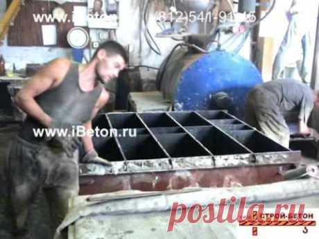 Производство пенобетона на установке Фомм-Проф, фильм 1