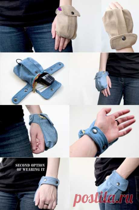 Manual wallet \/ Accessories (not ornament) \/ the Fashionable website about stylish alteration of clothes and an interior