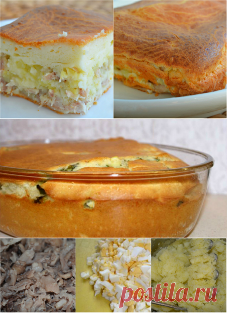 «Невесткин пирог» готовится невероятно быстро, фактически между делом