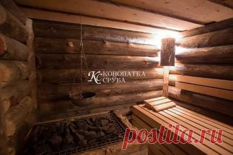 Отделка бани - Заказать отделку деревянных стен в Москве