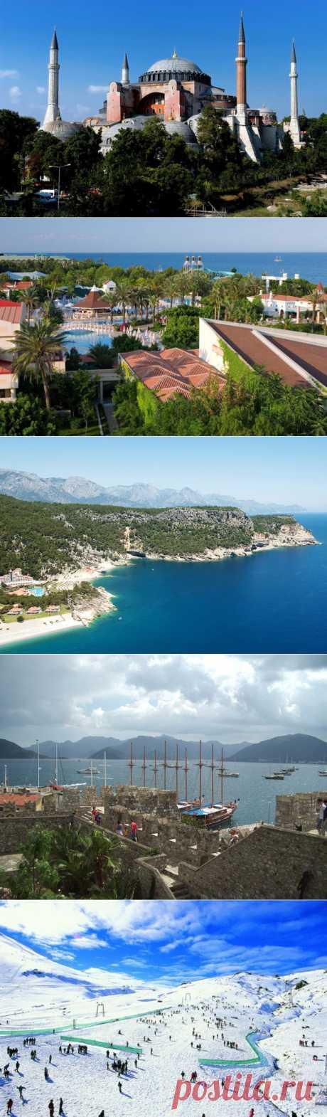 Лучшие курорты Турции.