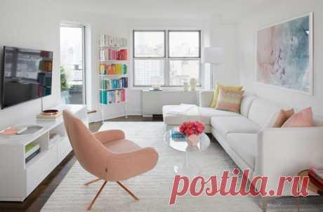 Как обустроить маленькую квартиру: 10 дизайнерских лайфхаков - InVkus