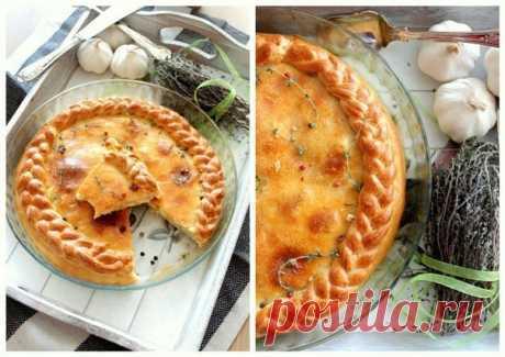 Пирог 3 сыра